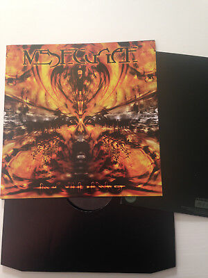 Meshuggah - Nothing Vinyl Poster Sleeve NOTVD ltd 333 Slayer