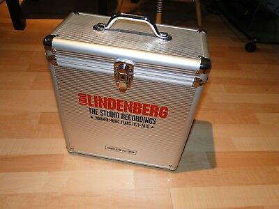 UDO LINDENBERG Flight Case 20xLP Vinyl Box Warner Music Years Studio Recordings