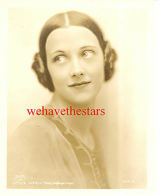 Vintage Lottice Howell 20s BEAUTY Publicity Portrait by APEDA