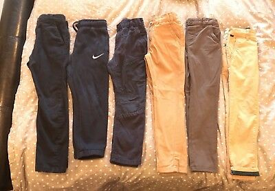 bundle of Next, Ted Baker, F and F boys jeans And chinos 5, 5-6  And 6 years