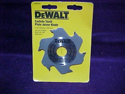 DEWALT DW6805 4-Inch 6 Tooth Carbide Plate Joiner Blade new in pkg FREE SHIP $$
