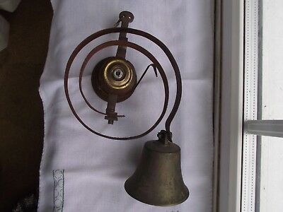 Vintage Antique Brass Servant's / Door Bell.