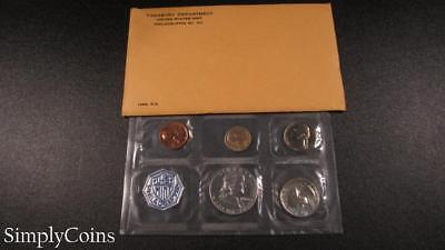 1963 Proof Set ~ Original Envelope With COA ~ US Mint Silver Coin Lot SKU-1066