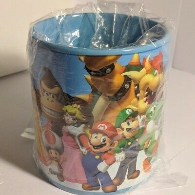 NEW Super Mario Coffee Mug - 20 oz. Molded Inside with Small Chip