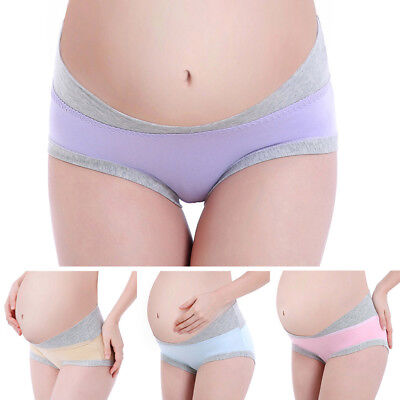 Maternity Panties U Type Pregnant Women Briefs Pregnancy Low-waist Underwear