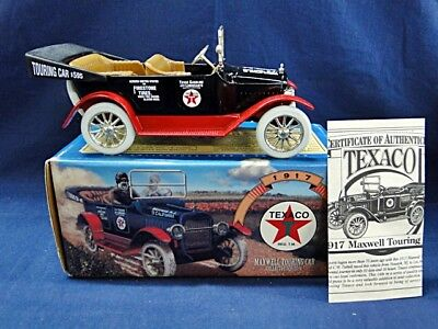"Texaco Ertl Die-Cast Bank ""1917 Maxwell Touring Car"" from Estate"