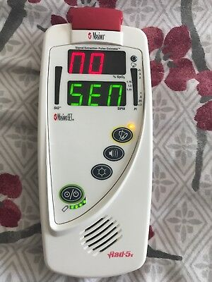 Masimo SET Rad-5v Hand Held Signal Extension Pulse Oximeter FREE SHIPPING!!!
