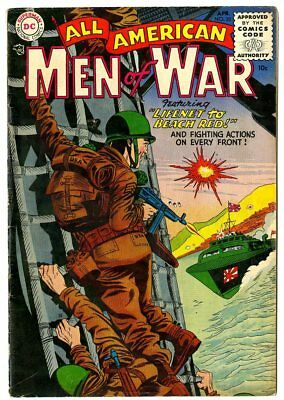 All American Men of War #20 VG/FN 5.0 off-white pages  DC  1955  No Reserve