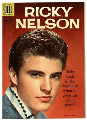 Four Color #1115 VF+ 8.5  Ricky Nelson  Photo Cover  Dell  1960  No Reserve