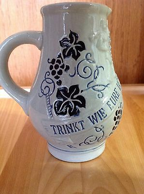 Collectable German Wine Carafe/Stein