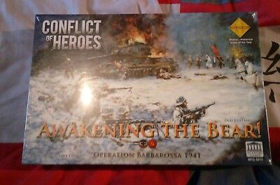 Conflict of Heroes: Awakening the Bear 2nd Edition - Brettspiel - Neu