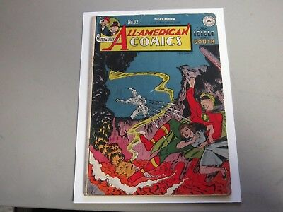 All American Comics #92 Comic Book 1948