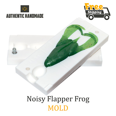 Keitech Noisy Flapper Frog Lure Bait Mold Toad Soft Plastic 90 mm