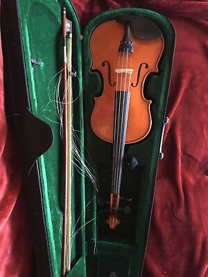 Student Violin With Bow And Case
