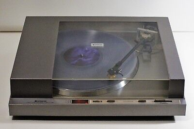Vintage Hitachi HT-40S Direct Drive Turntable with Audio Technica AT-110E,EX