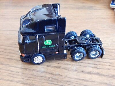 John Deere International Diecast Tractor Trailer