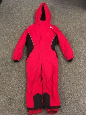 Red No Fear Waterproof Lined Cosy Suit Age 2-3