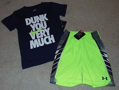~NWT Boys NIKE & UNDER ARMOUR Outfit! Size 6 Nice:)!