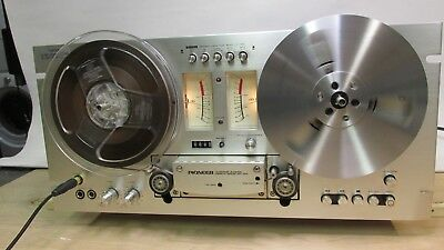 PIONEER RT-701 reel to reel tape deck SEREVICED TESTED WORKS VG+