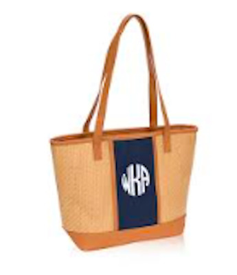 THIRTY ONE Thirty One Gifts Dream Big Tote BRAND NEW Natural Straw NO MONOGRAM