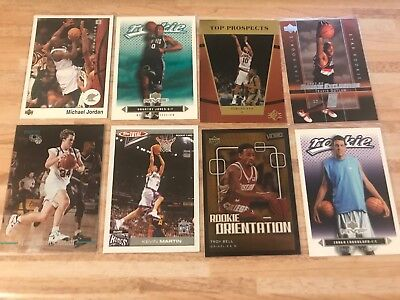 NBA Lot Sammlung 8Stk Trading Cards