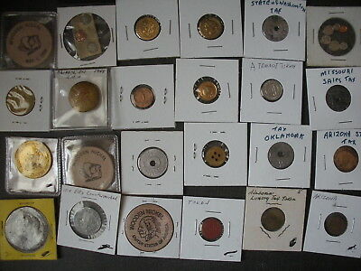 Mixed Tokens lot of 350