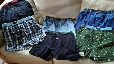 Lot of 6 Tommy Hilfiger men's boxer shorts used