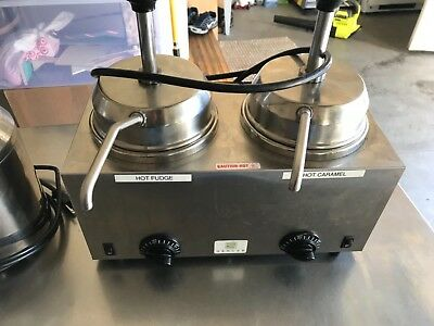 server warmers single and double with pumps