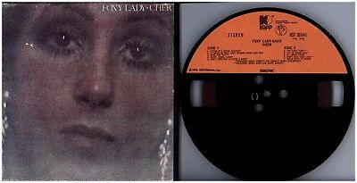 CHER Foxy Lady 1972 MCA / MAGTEC STEREO TEN TRACK 7 1/2 NEW REEL TO REEL TAPE