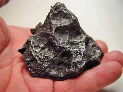 Museum Quality! Lots Of Thumbprints! Best New Campo Del Cielo Meteorite 658 Gms