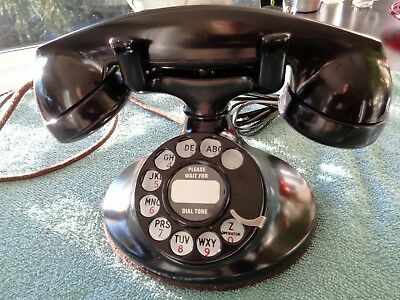 Western Electric Metal 202 D1 Mount Telephone old phone