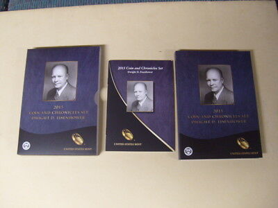 2015 Dwight Eisenhower Coin And Chronicles Set - Reverse Proof Dollar