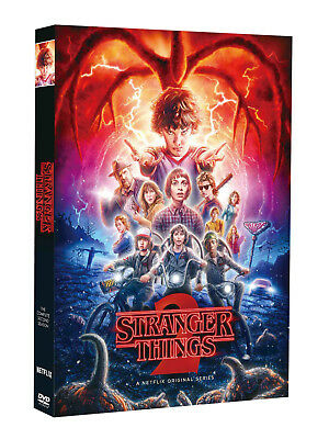 Stranger Things Season 2 (DVD, 2017, 3-Disc Set) FACTORY SEALED