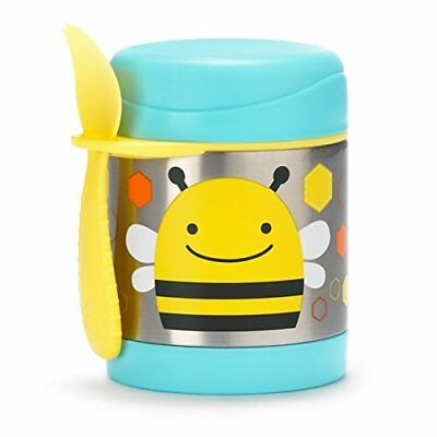 Skip Hop Baby Zoo Child Insulated Food Jar and Spork Set, Holds 325ml