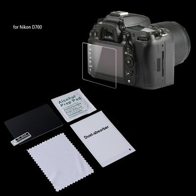 Tempered Glass Camera LCD Screen Protector Guard Cover Film For Nikon D700 New