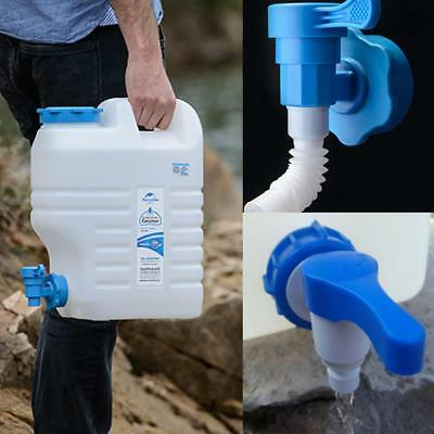 Outdoor 12L Water Storage Container Bottle Carrier Jerry Can Bucket with Tap ss