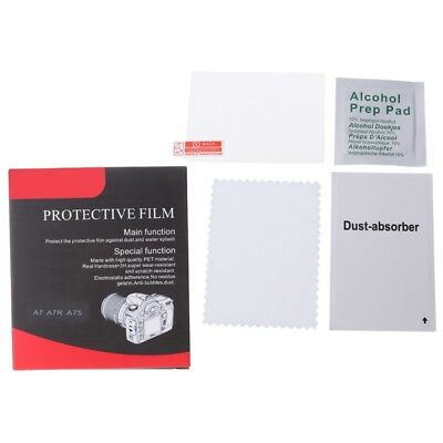 Camera Tempered Glass Screen LCD Protector Guard Cover Film For Sony A7R A7 A7S