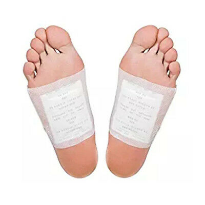 Hleathy Body Slimming Detox Foot Pads Patch Detoxify Toxins with Adhesive AU9B