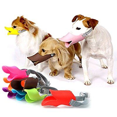 Puppy Bite MuzzleMask Quack Anti-Bark Soft Pet Dogs Bill Duck Halloween Party