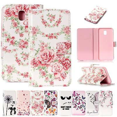 Wallet Magnetic PU Leather Phone Case Card Holder Cover Skin For Samsung Galaxy