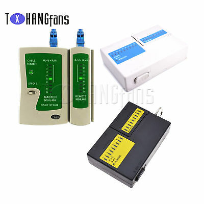 RJ45 RJ11 Cat5e Cat6 Super Network Lan Cable Tester Test Tool ATF