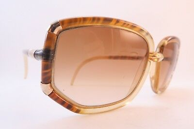 Vintage 80s Ted Lapidus Paris sunglasses graduated lens made in France