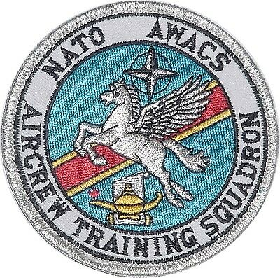 Luftwaffe Aufnäher Patch NATO AWACS E-3A Aircrew Training Squadron .......A4955K