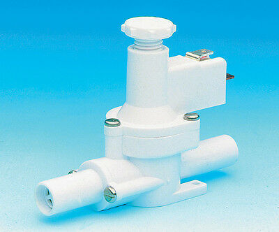 Caravan Whale Water Preasure Switch WU7207 Grooved For 12mm Push Fittings