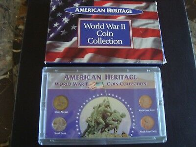 U.S. Coin American Heritage World War II Coin Collection  4 piece set