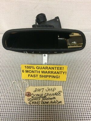 2007 JEEP Grand Cherokee Limited Rear View Mirror Smart Beam Uconnect 2005 2006