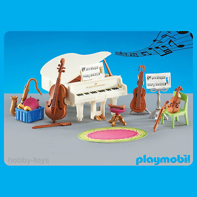 * Playmobil 6458 * Victorian Mansion / School Music Room Piano * Sealed in Bag *