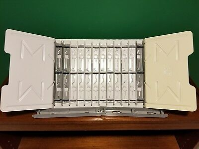 "MASTER Products Catalog Rack Starter Set, 12 1"" Sections"