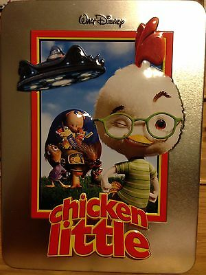 Chicken Little Limited Collectible Tin DVD w Certificate Of Authenticity