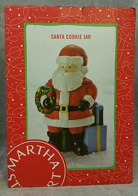 Martha Stewart Collection Holiday in The City Santa Cookie Jar 2015 new $80